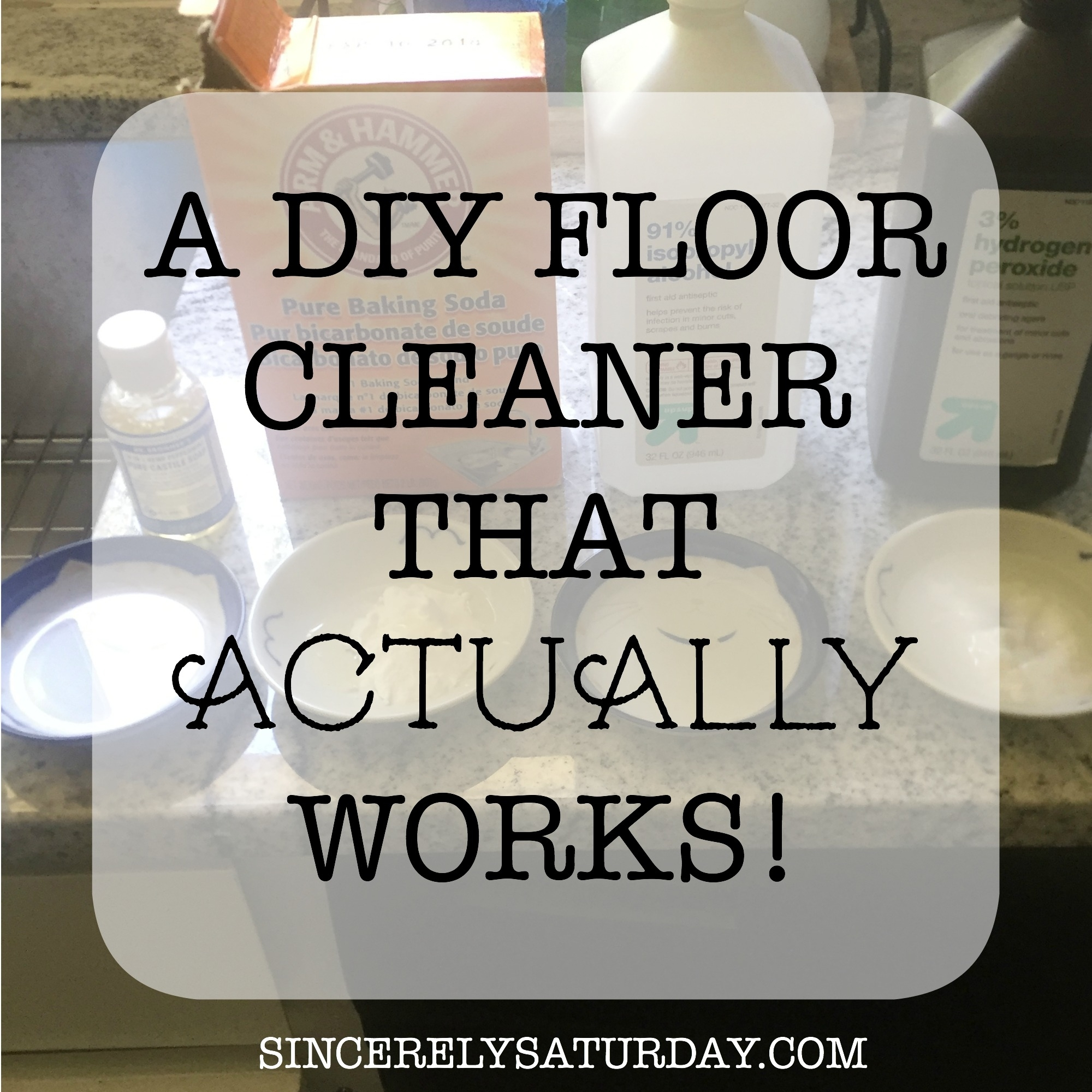 A DIY FLOOR CLEANER THAT ACTUALLY WORKS